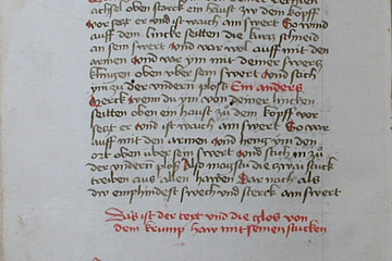 Page from Codex Danzig aka Codex 44.A.8