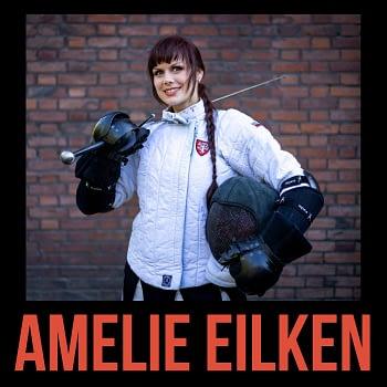 Amelie Eilkenzu Gast im Schwertgeflüster HEMA Podcast