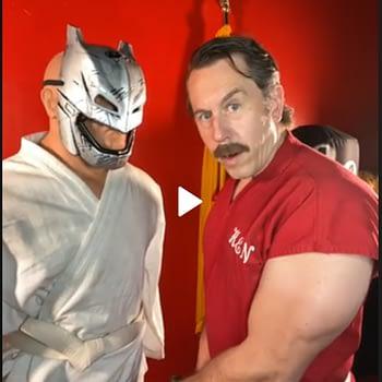 Master Ken, founder of Ameri-Do-Te demonstrates his secret HEMA tournament fighting techniques