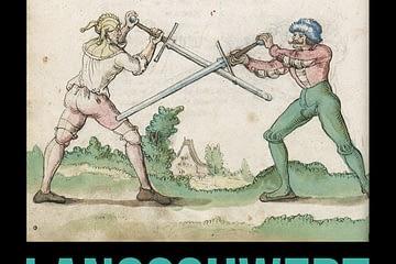 Podcast zum Langschwert zeigt zwei Fechtbuch Fechter mit Langen Schwertern