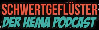 Schwertgeflüster HEMA Podcast Logo für Schwertkampf, Mittelalter und Geschichte